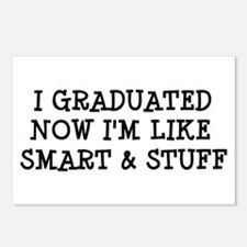 Smart & Stuff Grad Postcards (Package of 8)