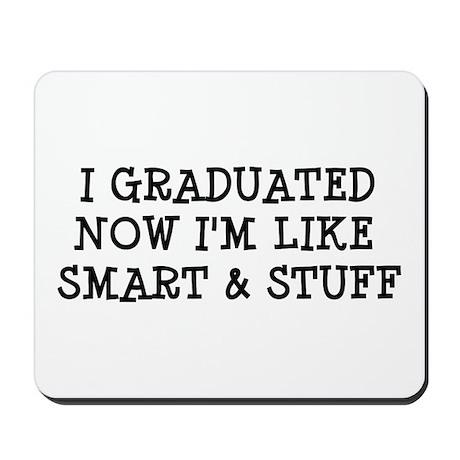 Smart & Stuff Grad Mousepad