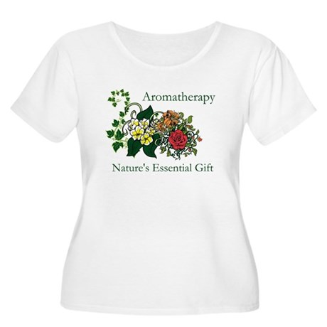Nature's Gift Women's Plus Size Scoop Neck T-Shirt