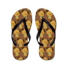 Cute Cute puppies Flip Flops