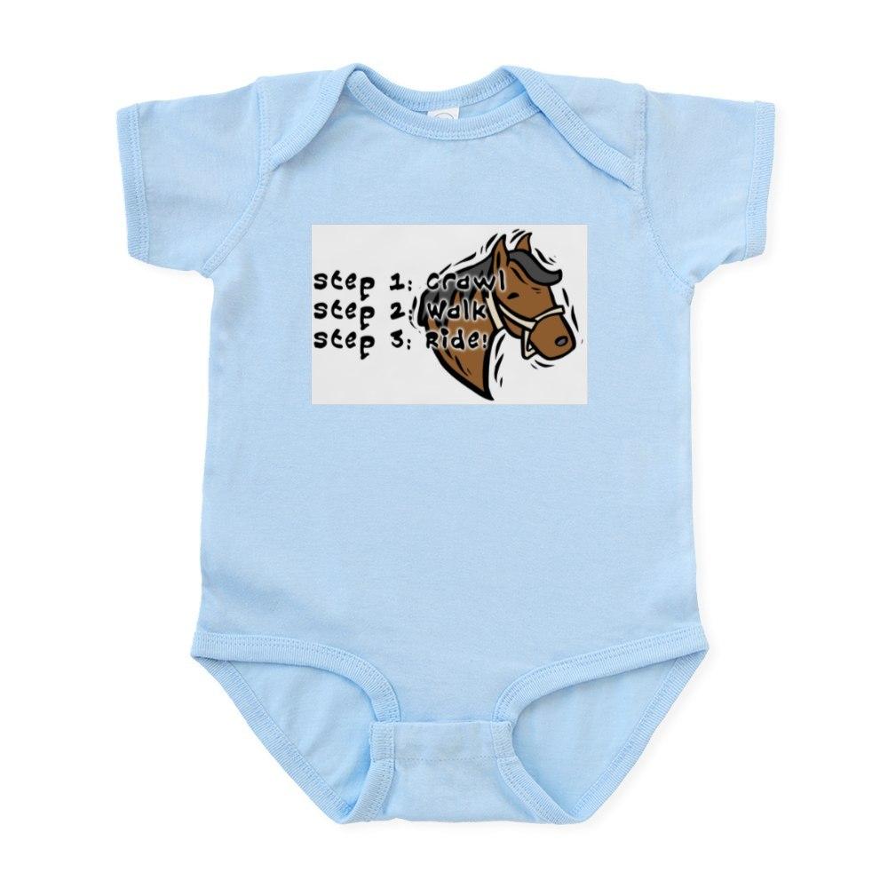 CafePress 3 Steps Design Infant Creeper