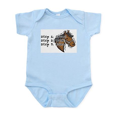 3 Steps Design Infant Creeper