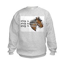 3 Steps Design Sweatshirt