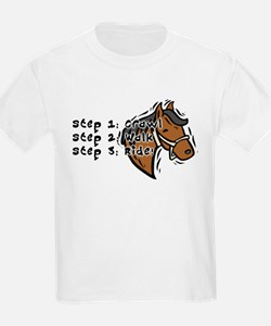 3 Steps Design Kids T-Shirt