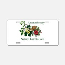 Nature's Gift Aluminum License Plate