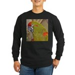 Red-fronted Macaw Long Sleeve Dark T-Shirt