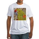 Red-fronted Macaw Fitted T-Shirt