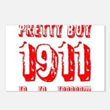 Pretty Boy 1911 Postcards (Package of 8)