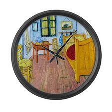 Van Gogh - Bedroom at Arles Large Wall Clock