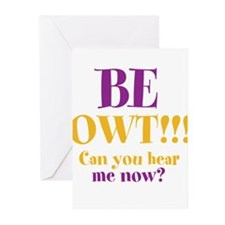 BE OWT!!! Greeting Cards (Pk of 20)