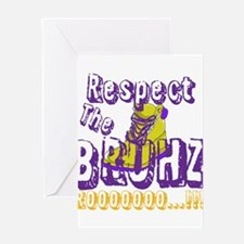 Respect the Bruhz Greeting Card