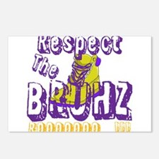 Respect the Bruhz Postcards (Package of 8)