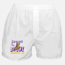 Respect the Bruhz Boxer Shorts