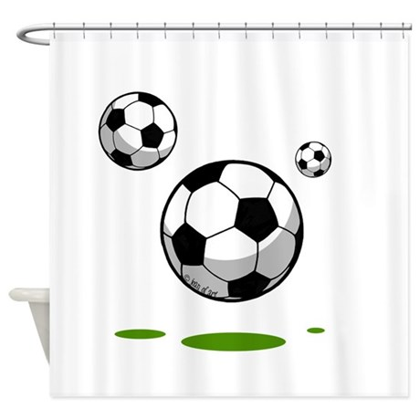 Soccer (8) Shower Curtain