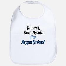 Bet Your Asado Argentinian Bib