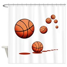 Basketball (A) Shower Curtain