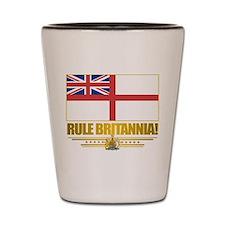 """""""Rule Britannia"""" Shot Glass"""