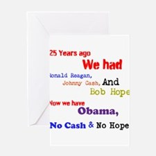 25 years Ago Greeting Card