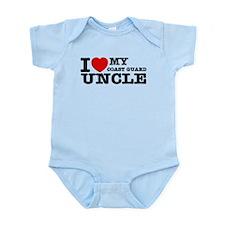 I love My Coast Guard Uncle Infant Bodysuit