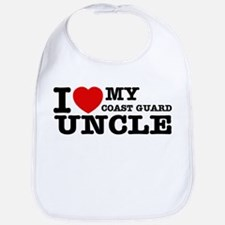 I love My Coast Guard Uncle Bib