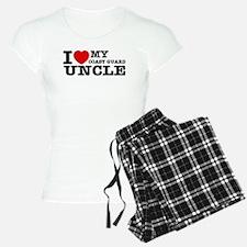 I love My Coast Guard Uncle Pajamas