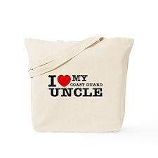 I love My Coast Guard Uncle Tote Bag