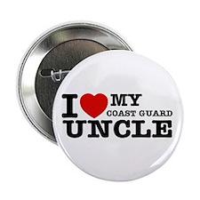 "I love My Coast Guard Uncle 2.25"" Button"