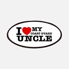 I love My Coast Guard Uncle Patches