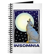 Insomnia Full Moon Wolf Journal