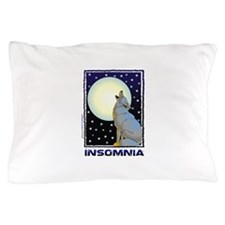 Insomnia Full Moon Wolf Pillow Case
