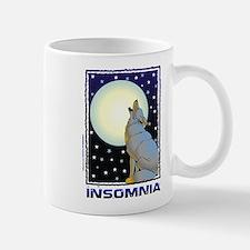 Insomnia Full Moon Wolf Mug