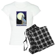 Insomnia Full Moon Wolf Pajamas