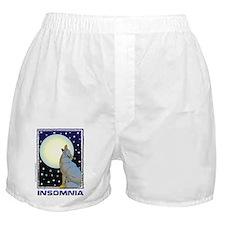 Insomnia Full Moon Wolf Boxer Shorts