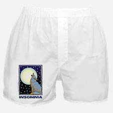 Insomnia Full Moon Wolf Boxer Shorts