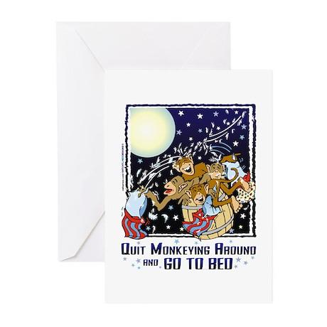 Monkeying Around Greeting Cards (Pk of 20)