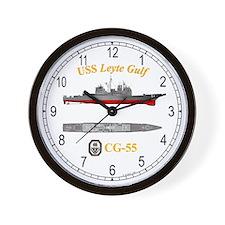 USS Leyte Gulf CG-55 Wall Clock