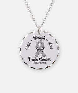 Strength Brain Cancer Necklace