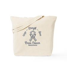 Strength Brain Cancer Tote Bag