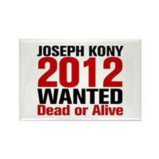 Kony 2012 Wanted Rectangle Magnet