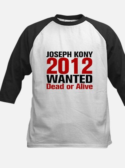 Kony 2012 Wanted Kids Baseball Jersey