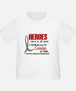 Heroes All Sizes Juv Diabetes T