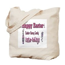 Happy Easter Holiday Tote Bag