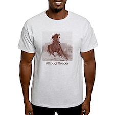 Horse #thoughtleader halftone - T-Shirt