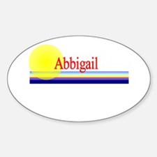 Abbigail Oval Decal