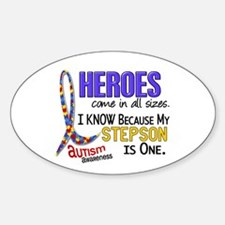 Heroes All Sizes Autism Decal