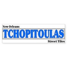 New Orleans Tchopitoulas Stickers