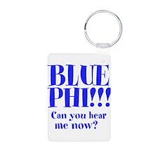 BLUE PHI Keychains