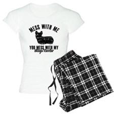 Skye terrier Dog design Pajamas