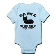 Skye terrier Dog design Infant Bodysuit