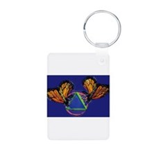 Recovery Butterfly Keychains